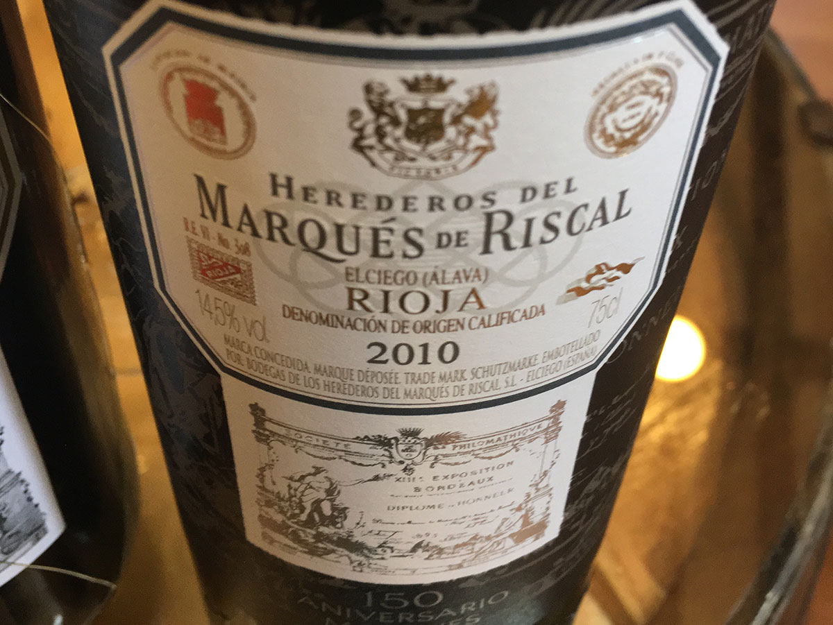La Rioja wine tour - Marques de Riscal - colorfulwines