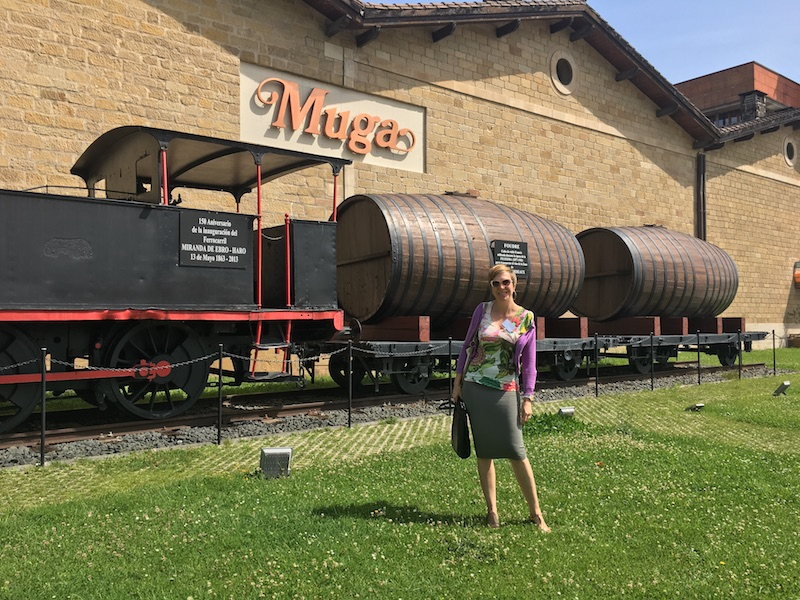Visiting Bodegas Muga in Haro