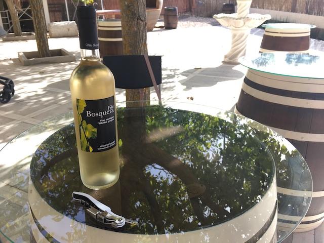 Viña Bosquera Airén based white wine