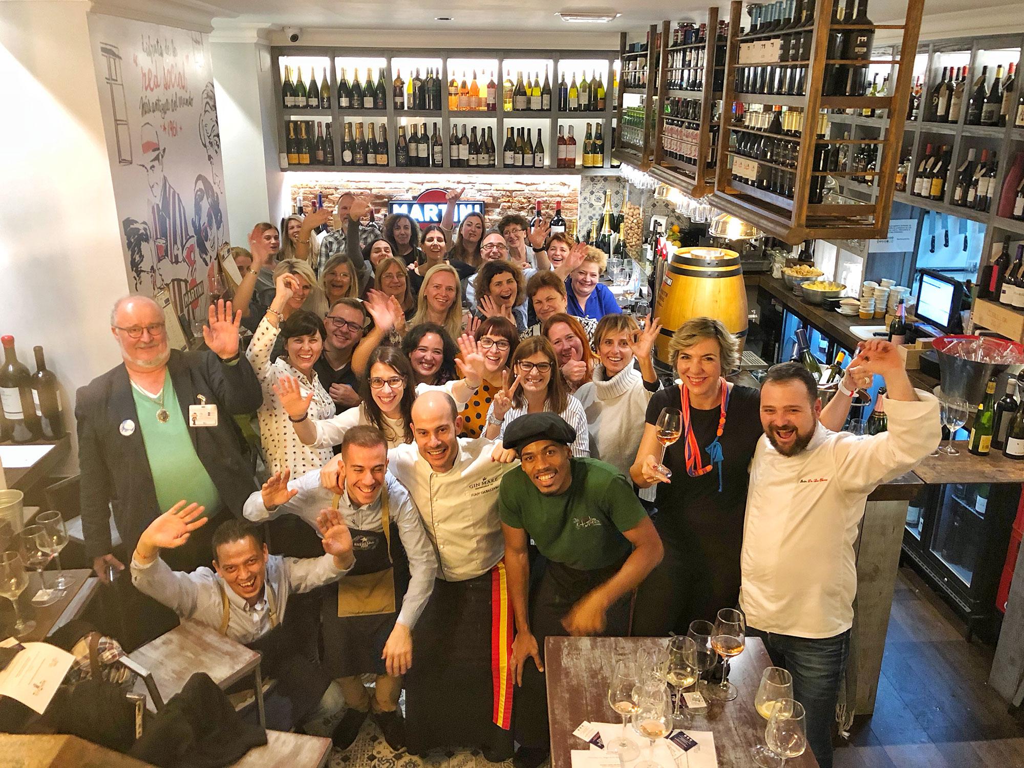 Corporate wine events